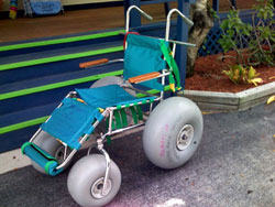 Beach Buggy Cart For Handicap People